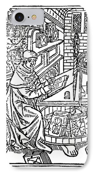 Monk: Scribe, 1488-89 Phone Case by Granger