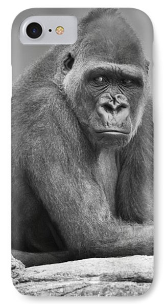 Monkey Phone Case by Darren Greenwood