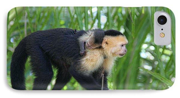 Monkey On My Back Phone Case by Debra     Vatalaro