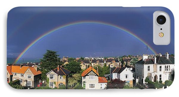Monkstown, Co Dublin, Ireland Rainbow Phone Case by The Irish Image Collection