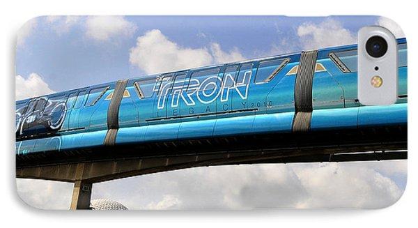 Mono Tron IPhone Case by David Lee Thompson