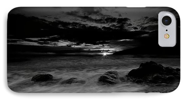 Monochrome Sunset  IPhone Case by Beverly Cash