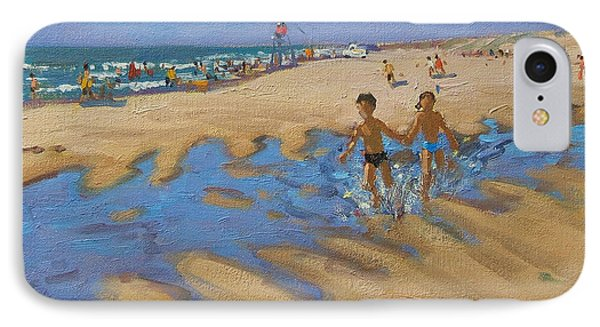 Montalivet France Phone Case by Andrew Macara