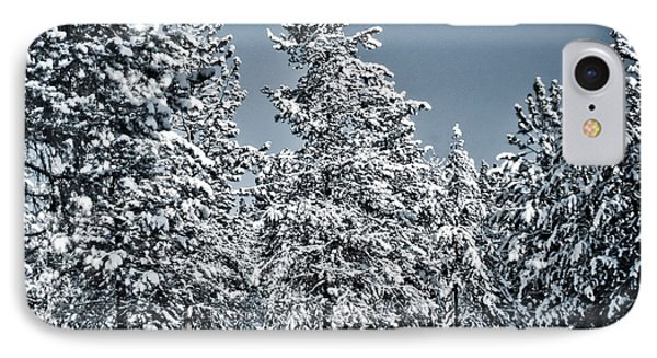 IPhone Case featuring the photograph Montana Christmas by Janie Johnson