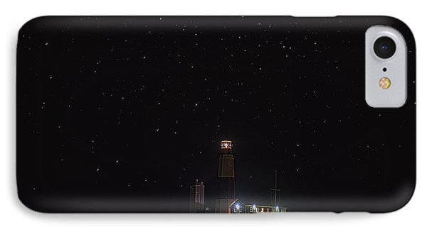 Montauk Starry Night Phone Case by William Jobes