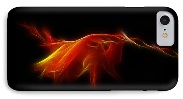 IPhone Case featuring the photograph Montbretia by Lynn Bolt