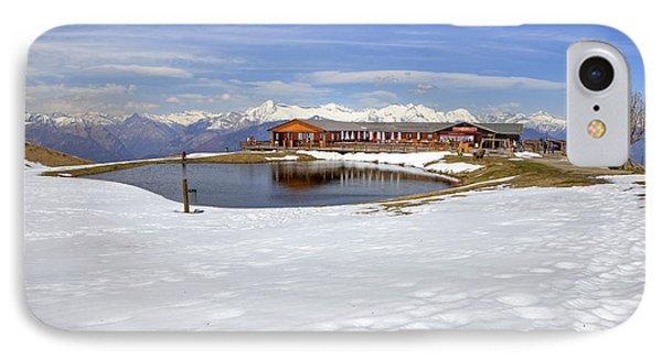 Monte Tamaro - Alpe Foppa - Ticino - Switzerland IPhone Case by Joana Kruse
