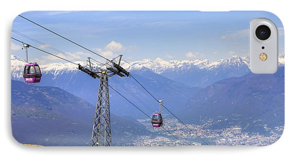Monte Tamaro - Switzerland IPhone Case