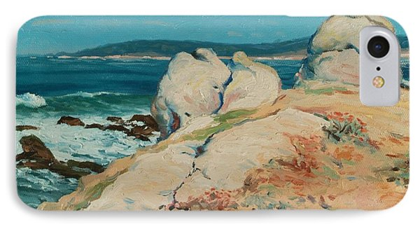 Monterey Coast IPhone Case by Guy Rose