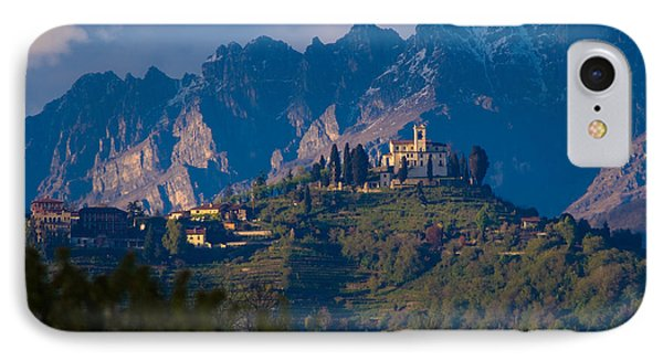 Montevecchia And Resegone Phone Case by Marco Busoni