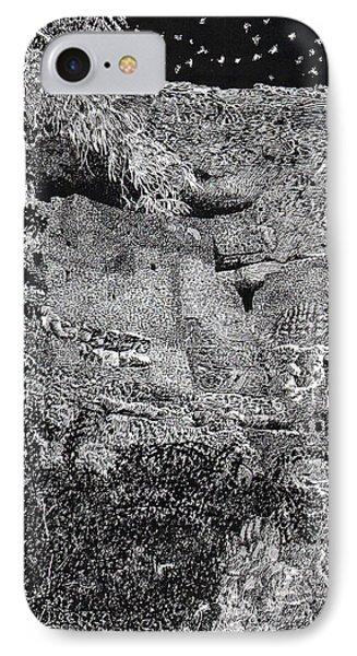 Montezuma Castle  IPhone Case by Jack Pumphrey