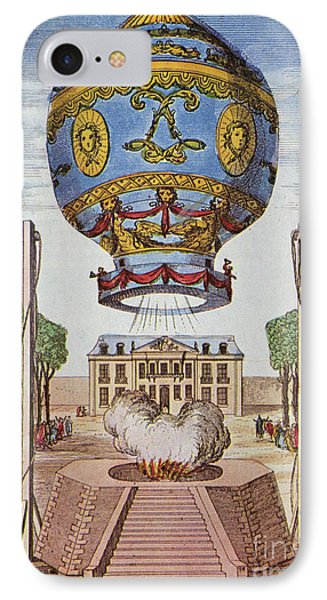Montgolfier Hot Air Balloon Phone Case by Science Source