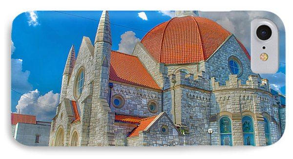 Montgomery Baptist Church Hdr IPhone Case by Shannon Harrington