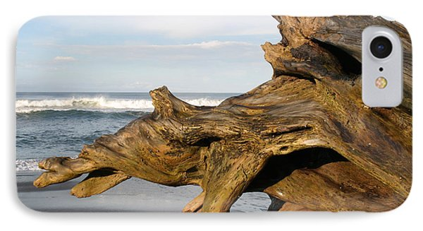 Monument At Playa Hermosa South Of Jaco Costa Rica IPhone Case by Michelle Wiarda