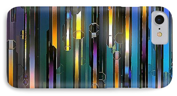 IPhone Case featuring the digital art Mood Lighting by Greg Moores