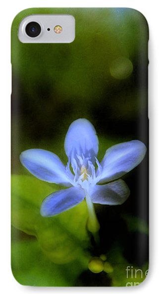 Moon Flower Phone Case by Judi Bagwell