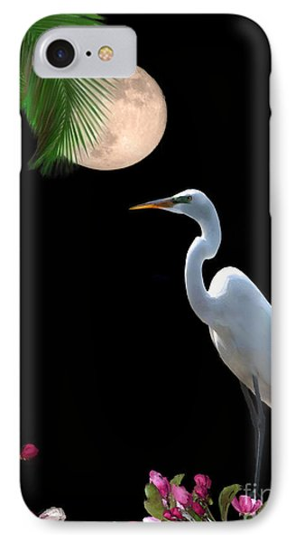 Moon Over Florida Phone Case by Betty LaRue