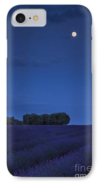Moon Over Lavender Phone Case by Brian Jannsen