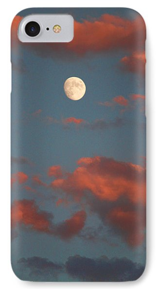 Moon Sunset Vertical Image Phone Case by James BO  Insogna