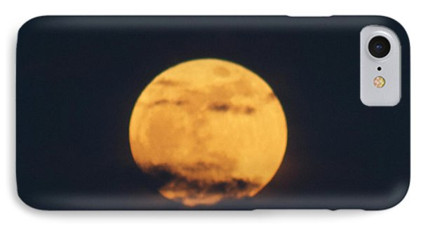 IPhone Case featuring the photograph Moon by William Norton