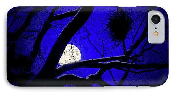 Moon Wood  IPhone Case by Richard Piper