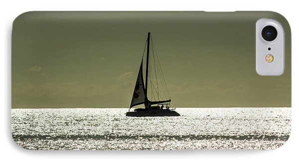 Moonlight Sail Phone Case by Rene Triay Photography
