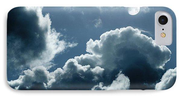 Moonlit Clouds Phone Case by Detlev Van Ravenswaay