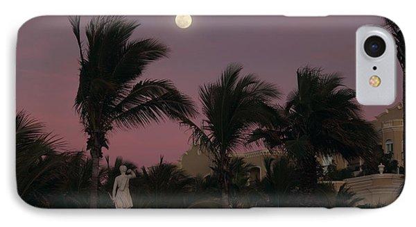 Moonlit Resort Phone Case by Shane Bechler