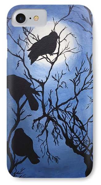 Moonlit Roost IPhone Case