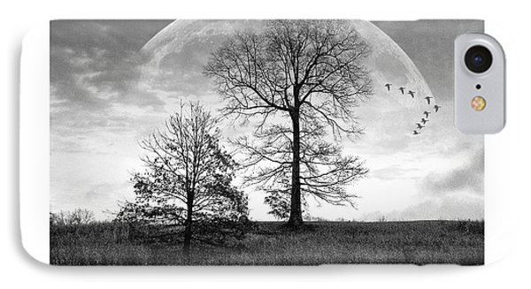 Moonlit Silhouette Phone Case by Brian Wallace