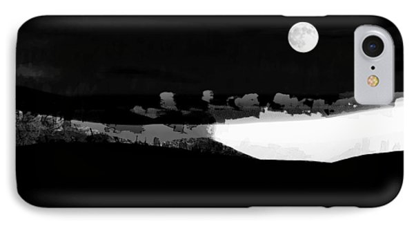 Moonrise Adams Country IPhone Case by Ron Jones