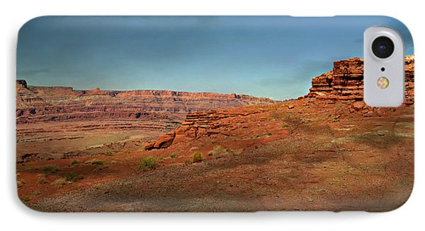 Moonrise On The Mesa Phone Case by Marty Koch