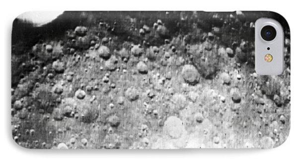 Moon's Surface, Zond 3 Image Phone Case by Ria Novosti
