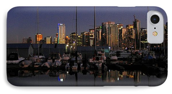 Moored For The Night Phone Case by Will Borden