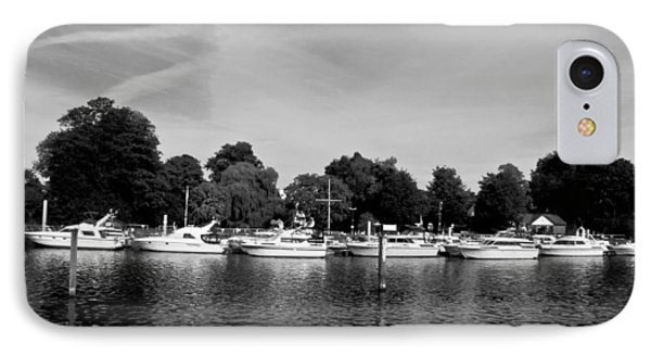 IPhone Case featuring the photograph Mooring Line by Maj Seda
