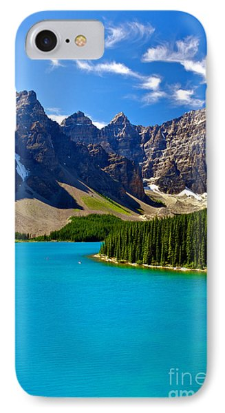 Moraine Lake Phone Case by James Steinberg and Photo Researchers