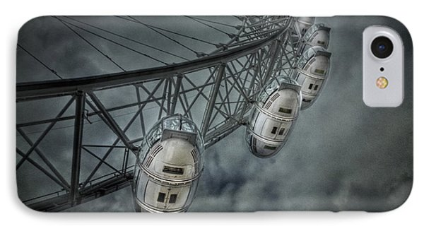 London Eye iPhone 7 Case - More Then Meets The Eye by Evelina Kremsdorf