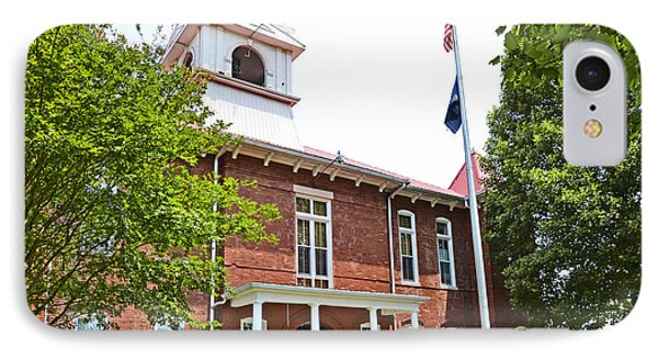 Morgan County Courthouse Phone Case by Paul Mashburn