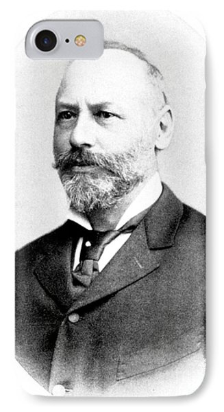 Moritz Kaposi, Hungarian Dermatologist IPhone Case