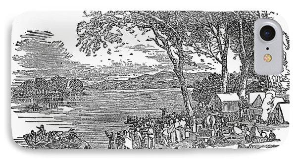 Mormon Flight, 1833 IPhone Case by Granger