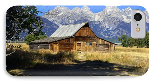 IPhone Case featuring the photograph Mormon Row Barn by Marty Koch