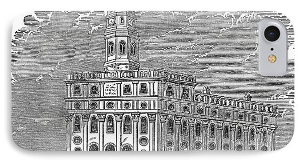 Mormon Temple, Nauvoo Phone Case by Granger