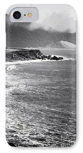 Morning Along The Coast Phone Case by John Rizzuto