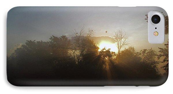 Morning Flight 1 IPhone Case by Cedric Hampton