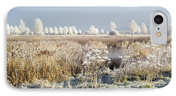 Morning Frost Phone Case by Duncan Shaw