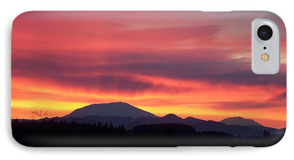 IPhone Case featuring the photograph Morning Glow by Chalet Roome-Rigdon