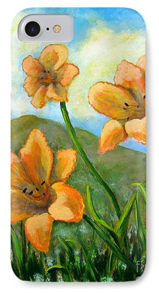 Morning Glow IPhone Case by Laurie Morgan
