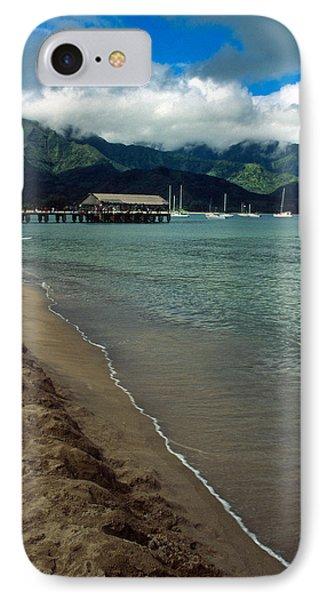 Morning In Hanalei Bay Phone Case by Kathy Yates