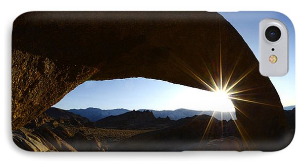 Morning Light Alabama Hills IPhone Case by Bob Christopher