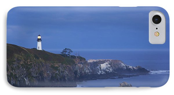 Morning Light Over Yaquina Head Phone Case by Craig Tuttle